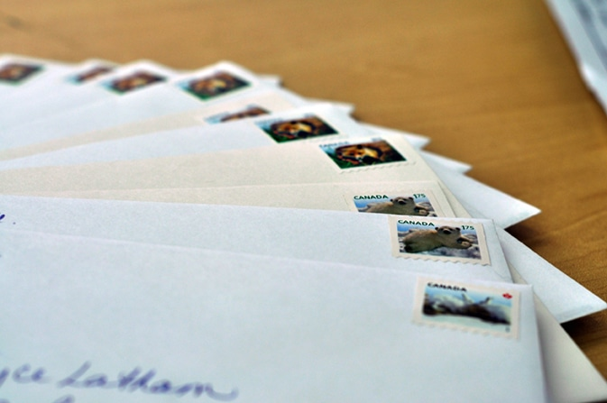 Many parents send letters in advance of their child arriving at camp.