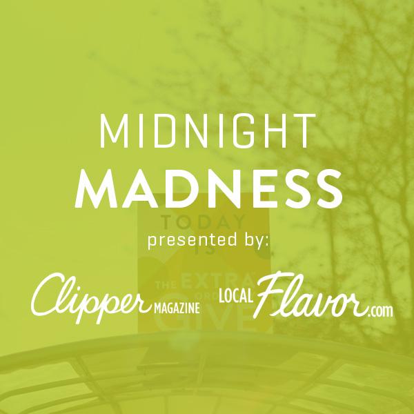 12am-3am: Midnight Madness -