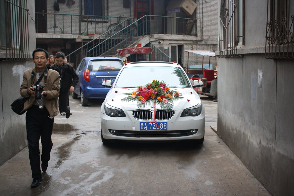 Two weddings in cities shaped by coal – one American, one Chinese.