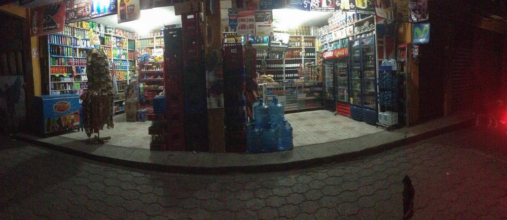 One of the many tiendas at Lake Atitlán.