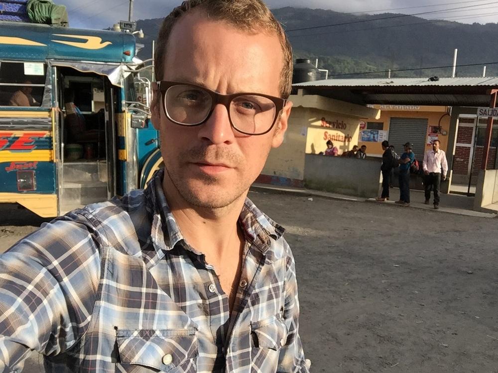 Morning selfie. 6:46 in Uspantán.