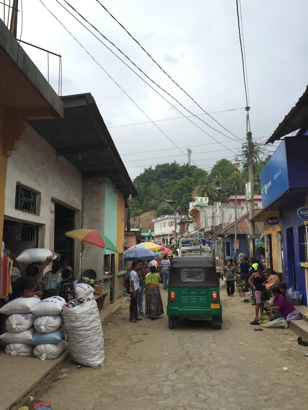 Santa María Cahabón, Guatemala.