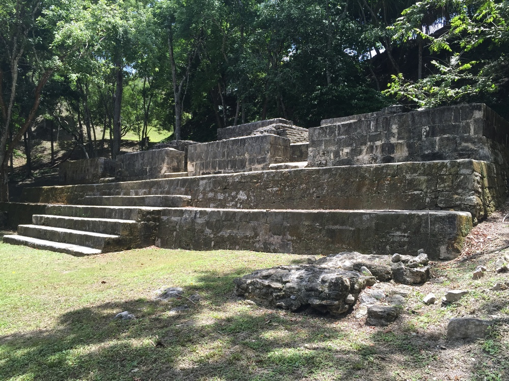 The huge complexes at the ruins were usually municipal buildings or for rituals. Think city hall or church. This area was more likely residential, or perhaps a steam bath, or both.