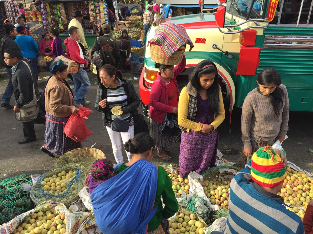Market in Quetzaltenango a.k.a. Xela, in the western highlands of Guatemala.