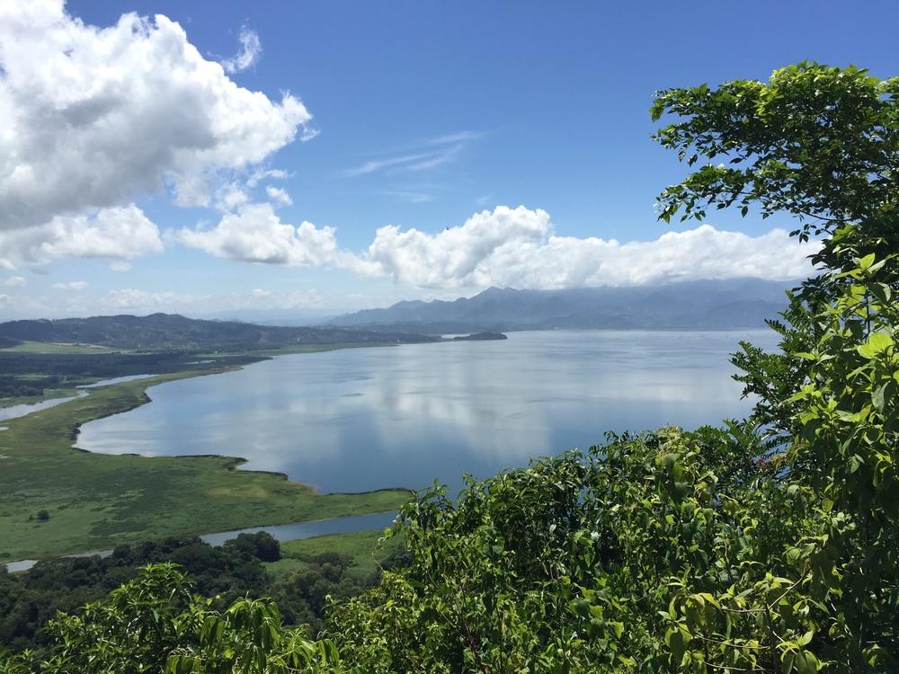 Lake Yojoa is the largest lake in Honduras.