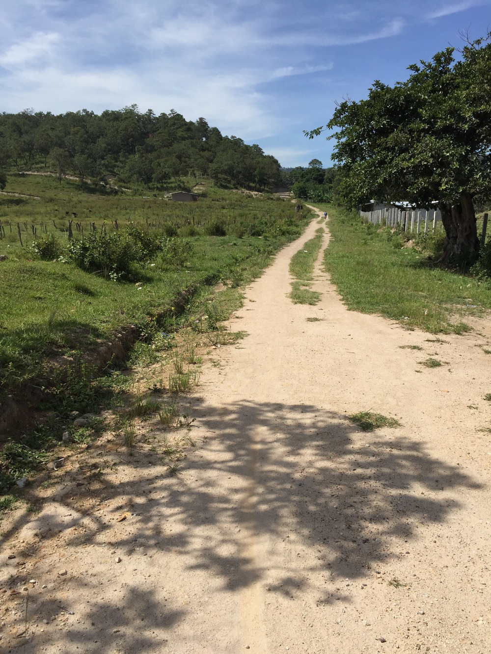 Outside of Gracias, Honduras.