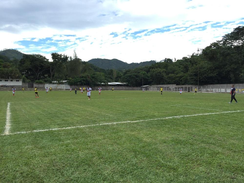 Local soccer league in Copán Ruinas, Honduras.