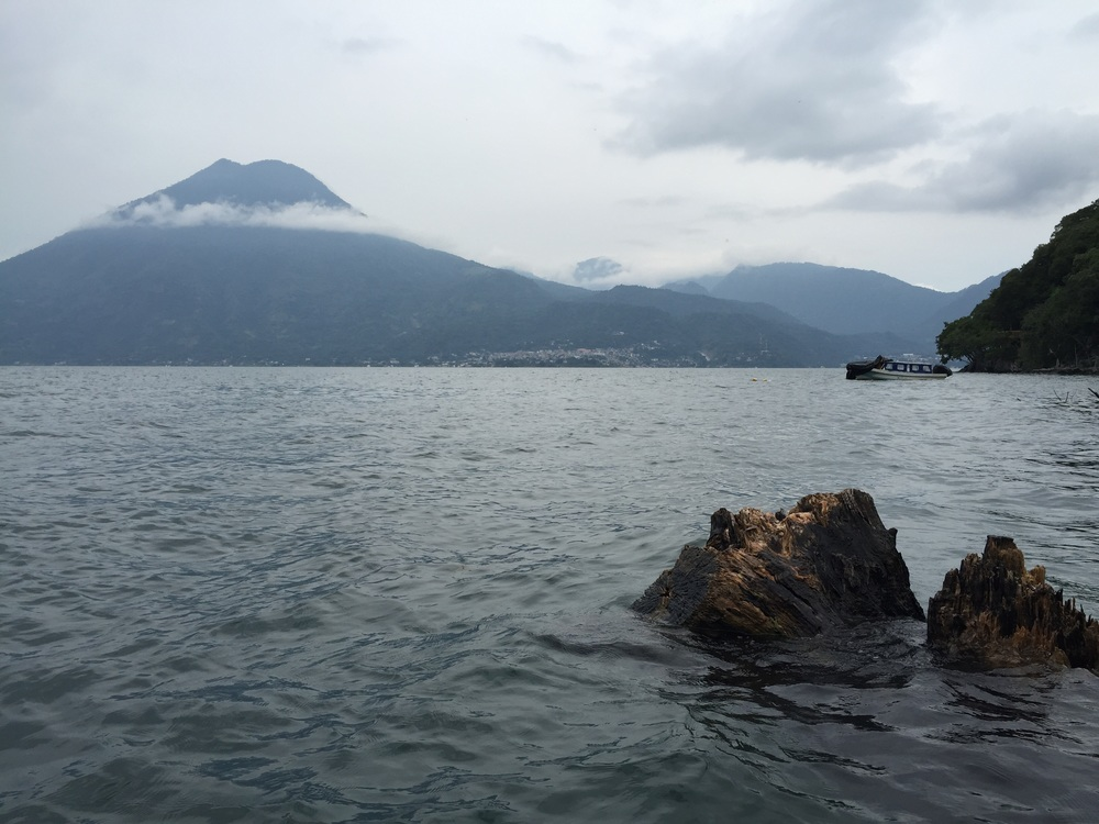 San Pedro Volcano at Lake Atitlán.