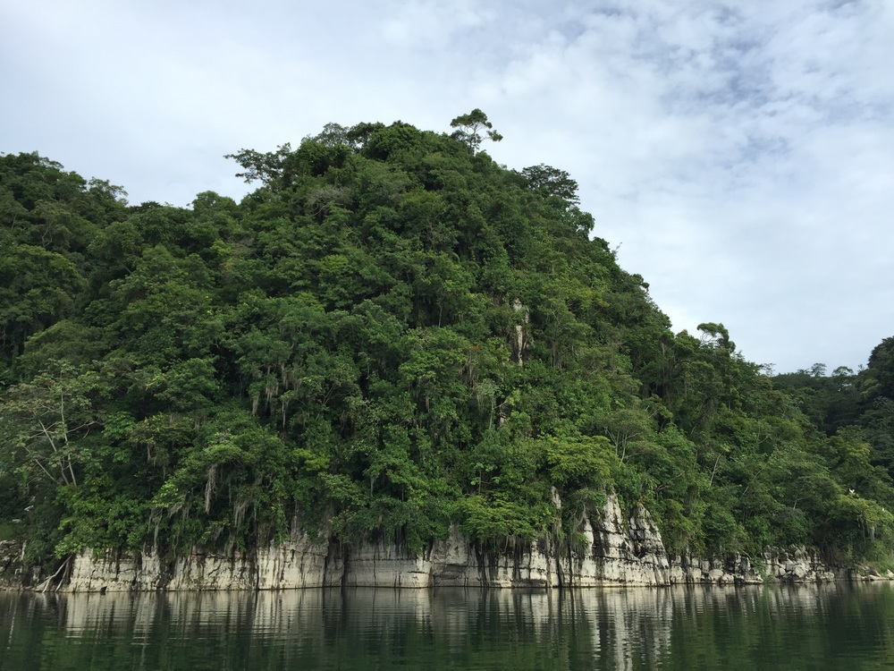 Lake Yojoa, Honduras.