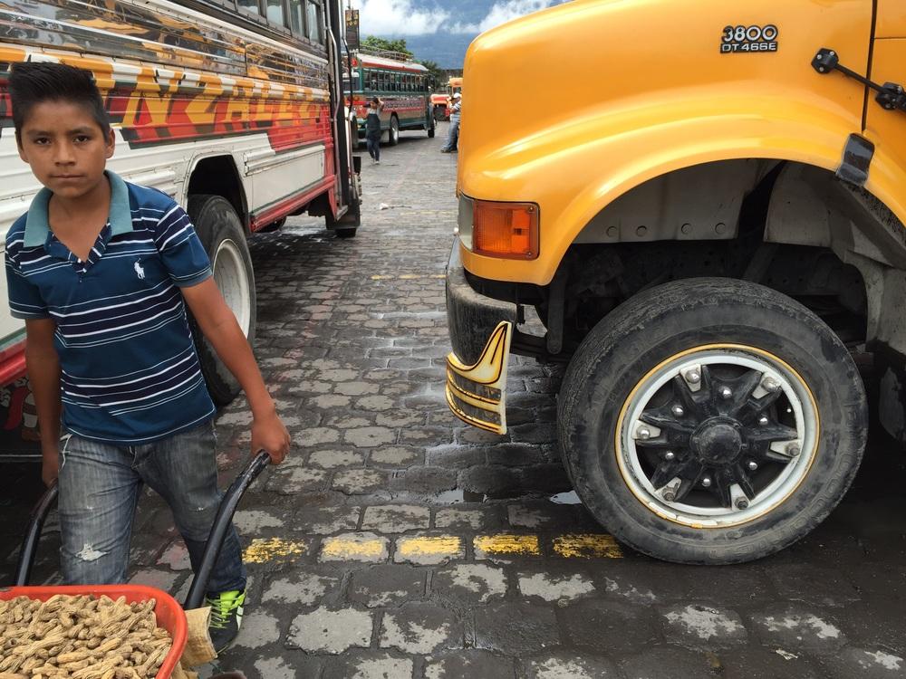 Las Camionetas in Antigua.