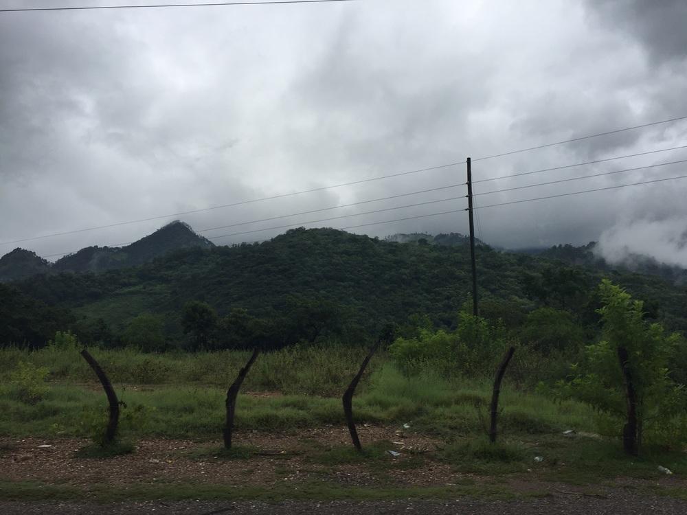 Guatemala near the border with Honduras.