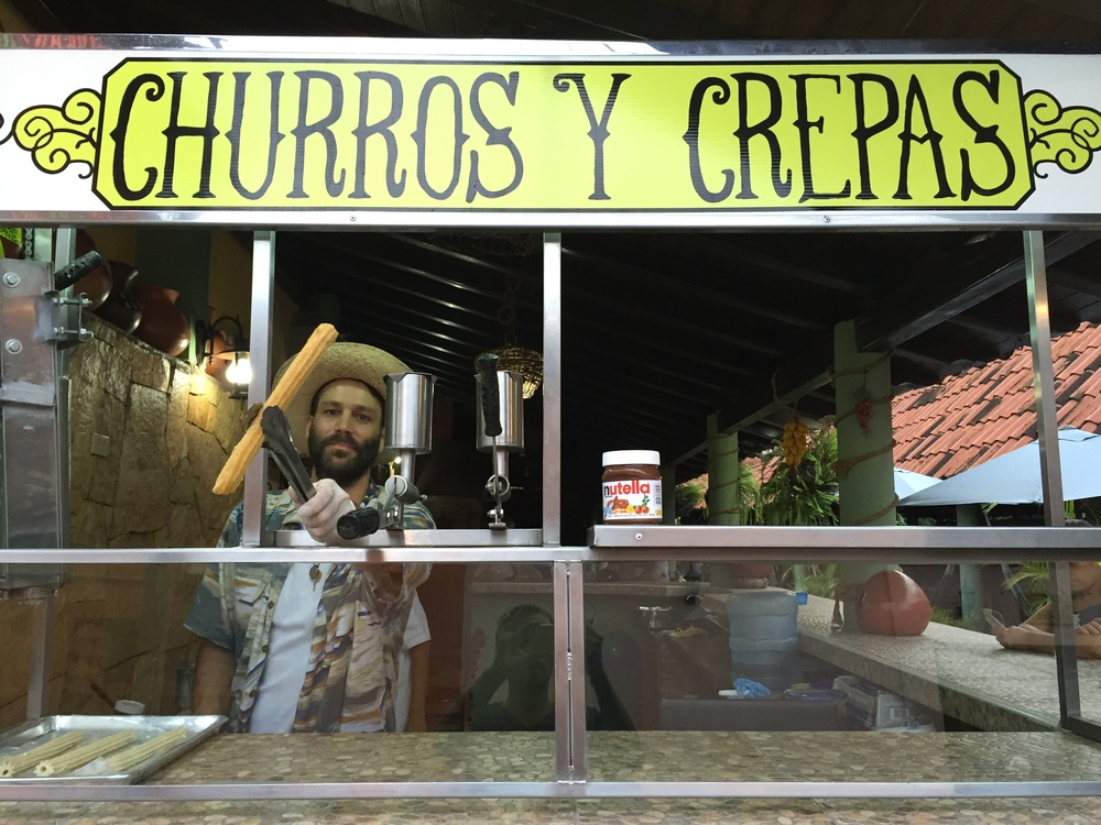 Don Churro in Copán, Ruinas.