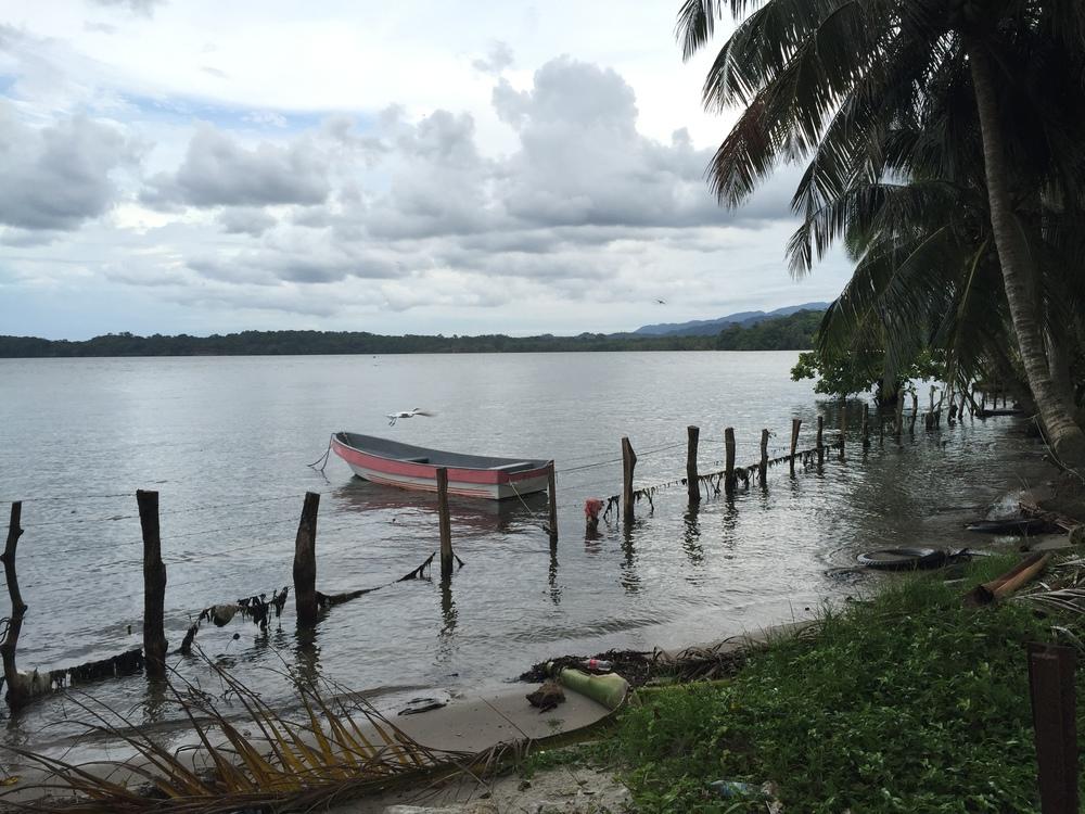 Caribbean coast of Guatemala.