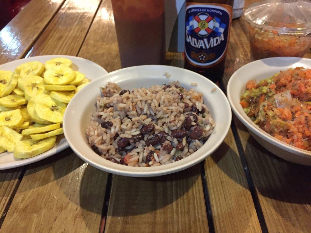 My favorite food in Honduras!