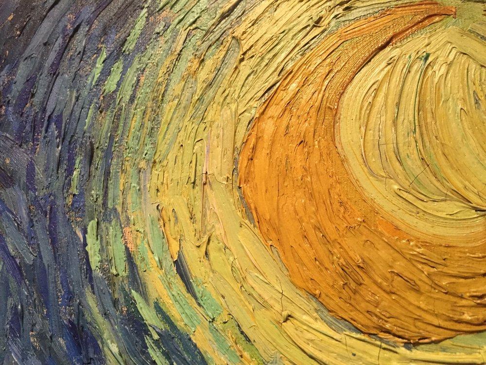 Van Gogh's Starry Night.