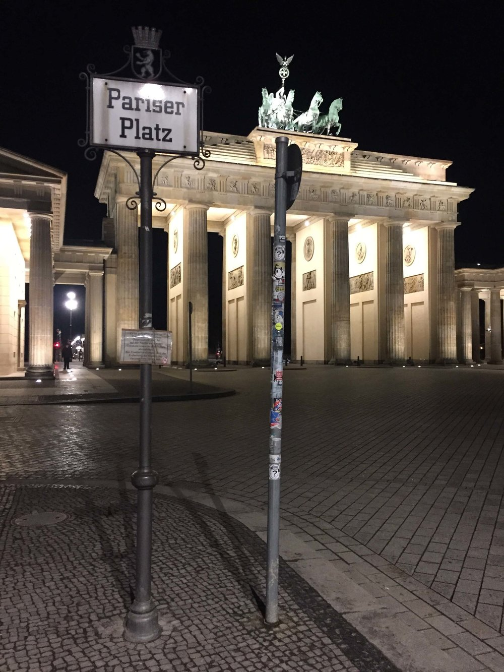 Pariser Platz and Brandenburg Gate - Berlin, Germany.