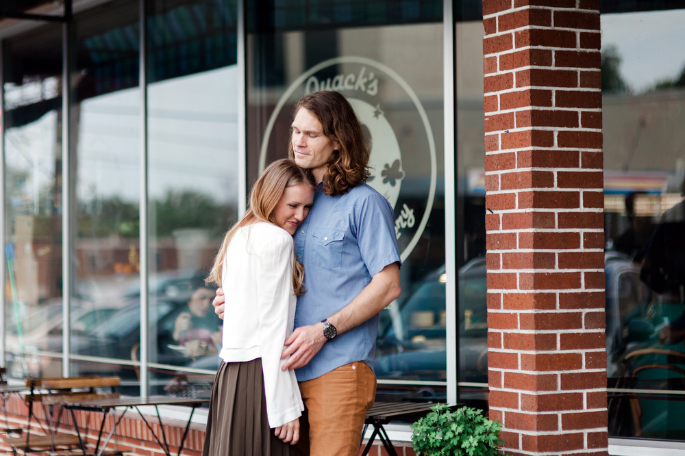 Austin Engagement Photographer Kayla Snell - Quack's Bakery 017.jpg