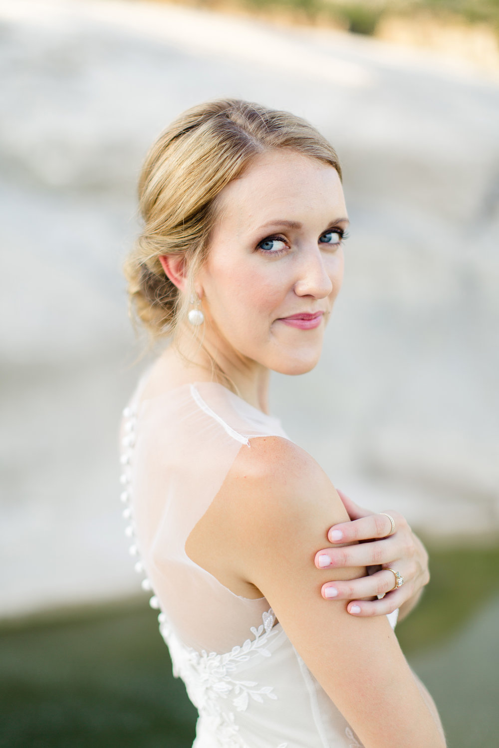Pedernales Falls Austin Bridal Session.