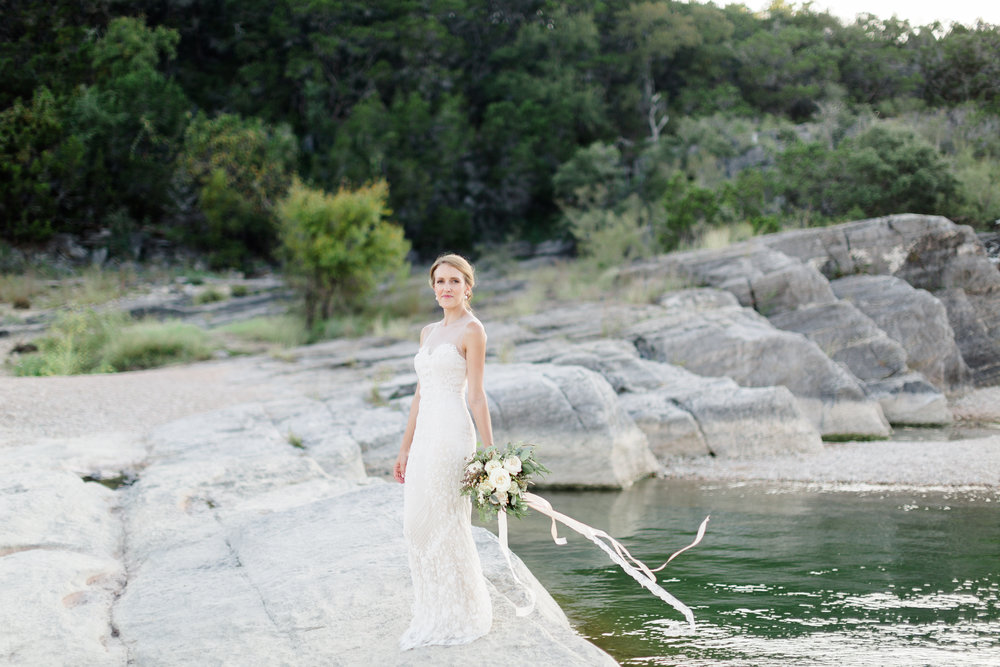 Pedernales Falls Austin Bridal Session