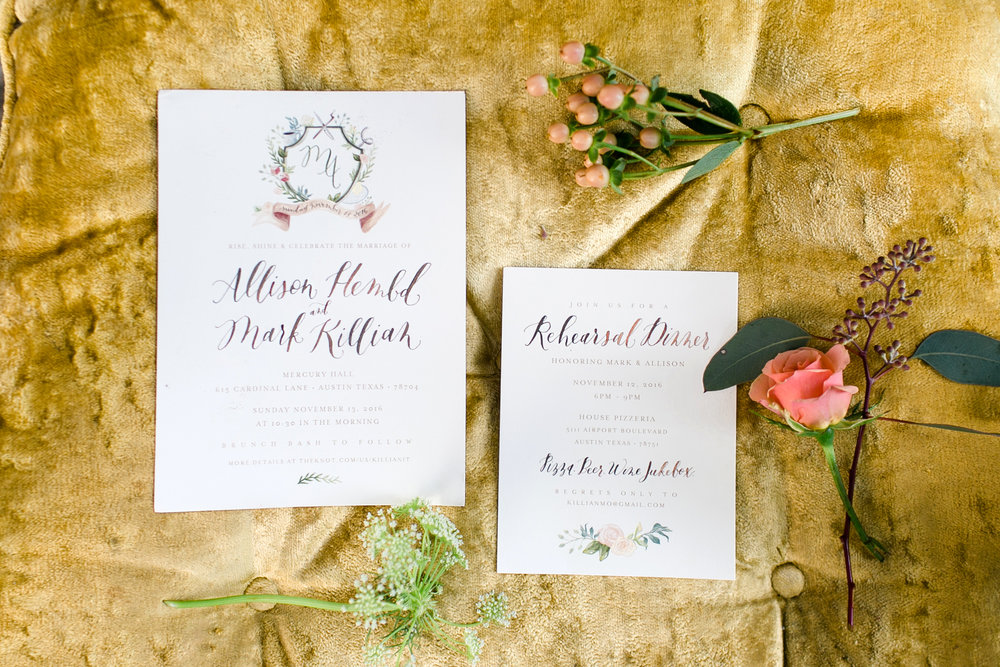 Austin Fine Art Wedding Photographer Kayla Snell Photography - Mercury Hall Brunch Wedding Austin