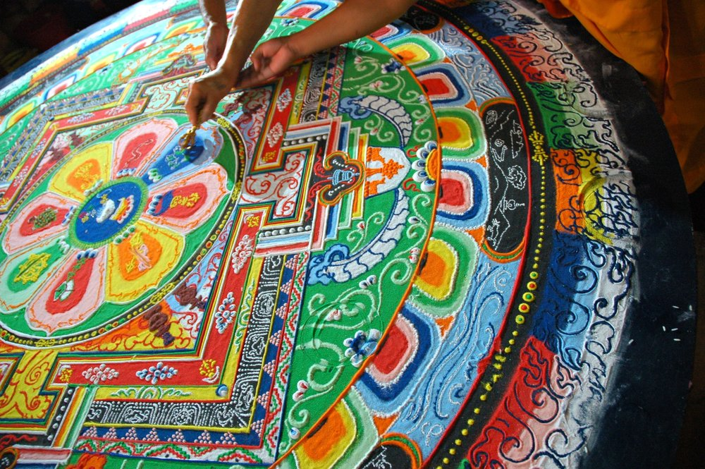 Creation of a Mandala