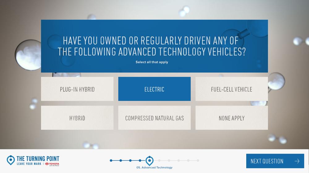 UI Design: Advanced Tech Vehicle