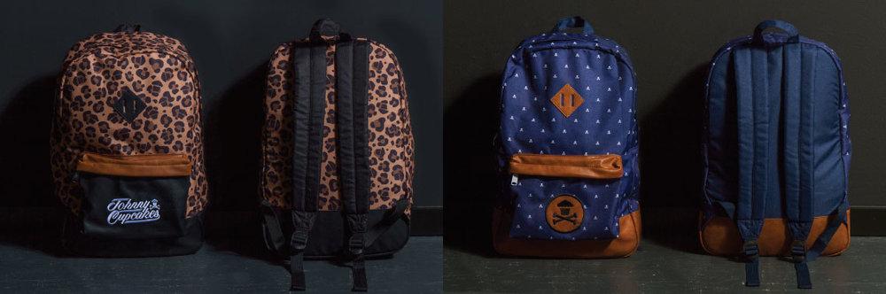 Johnny Cupcakes Backpack Sampling & Production Management