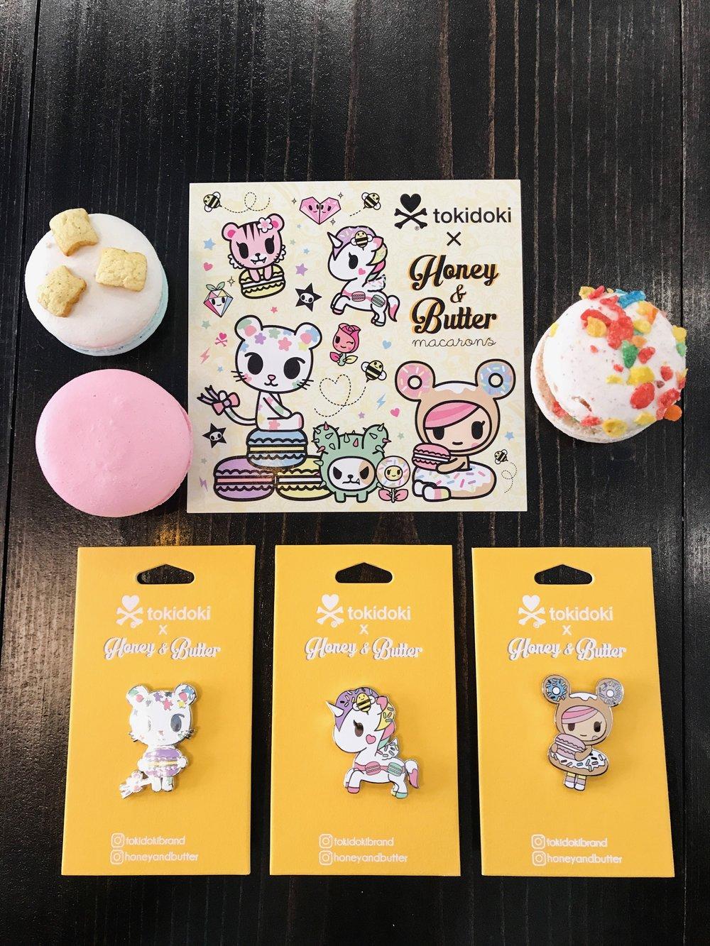 Tokidoki x Honey & Butter Pin Production Management