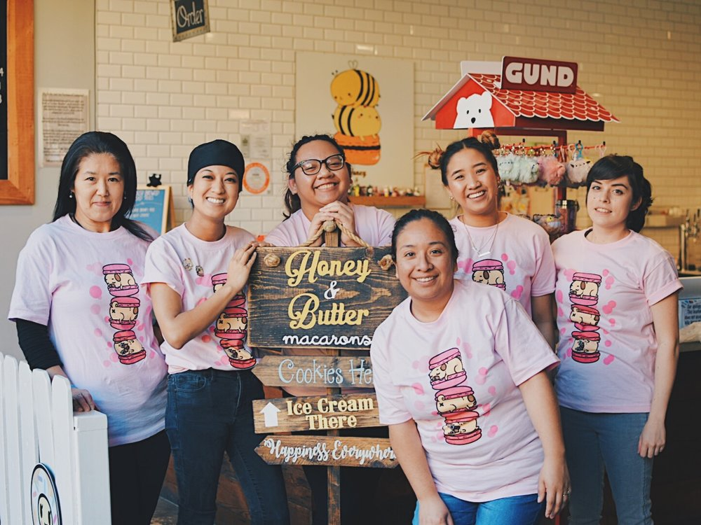 Honey & Butter Staff were T-shirts I produced