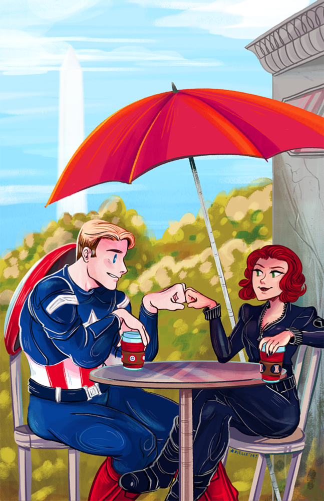 CAP & WIDOW (2014)