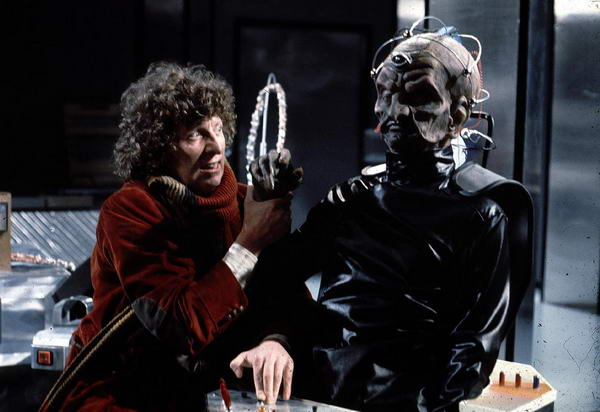 The Doctor and Davros