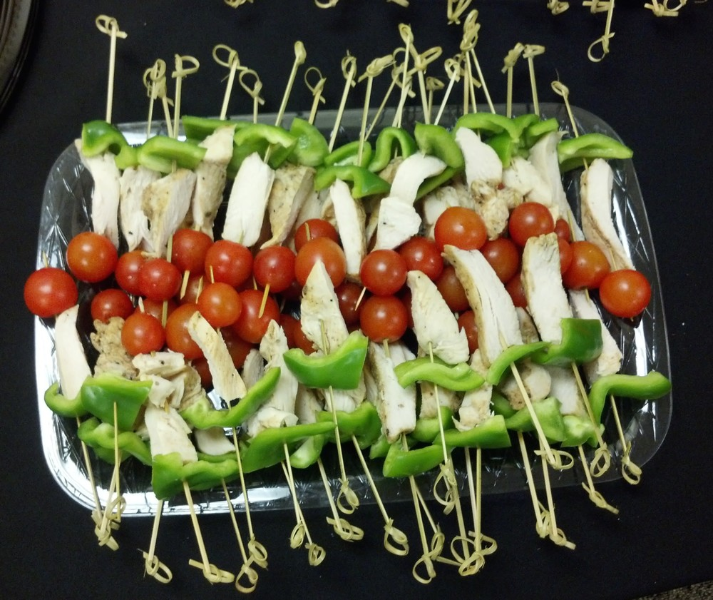 Chicken Antipasto Skewers