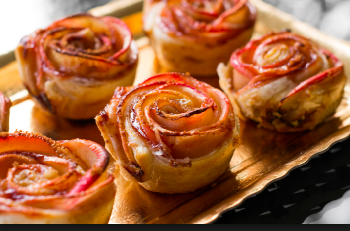 Baked Apple Roses - welcome to Portland!