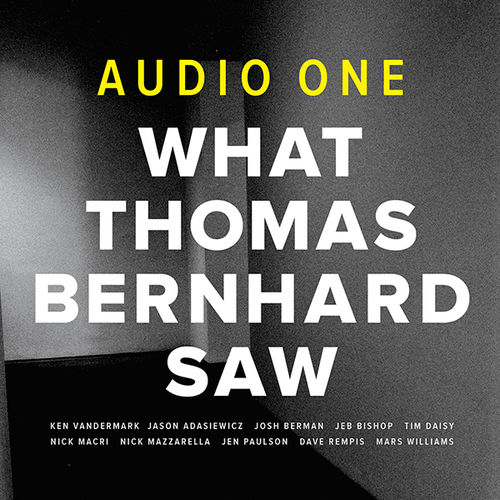 Audio One — What Thomas Bernhard Saw