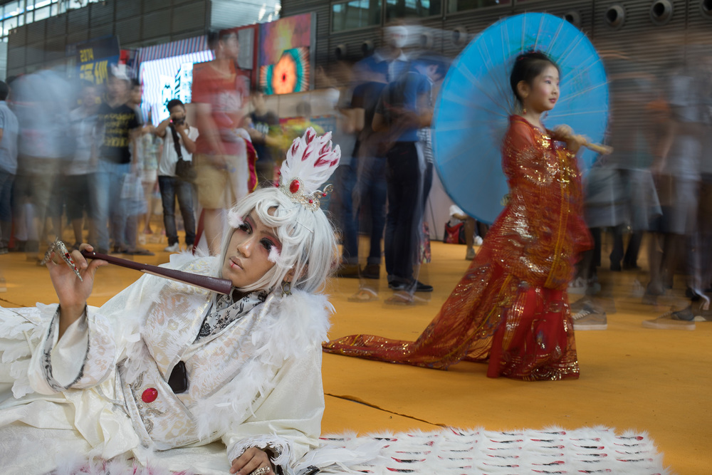 Cosplay & anime expo. Shenzhen