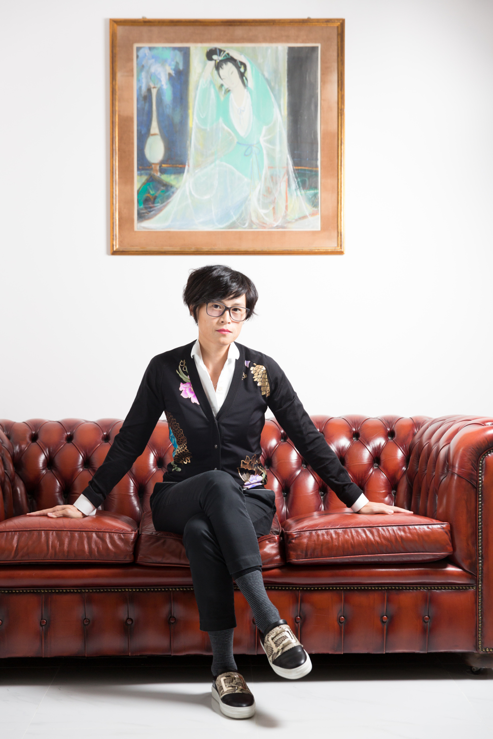 HK Socialite and LGBT advocate Gigi Chao for Financial Times