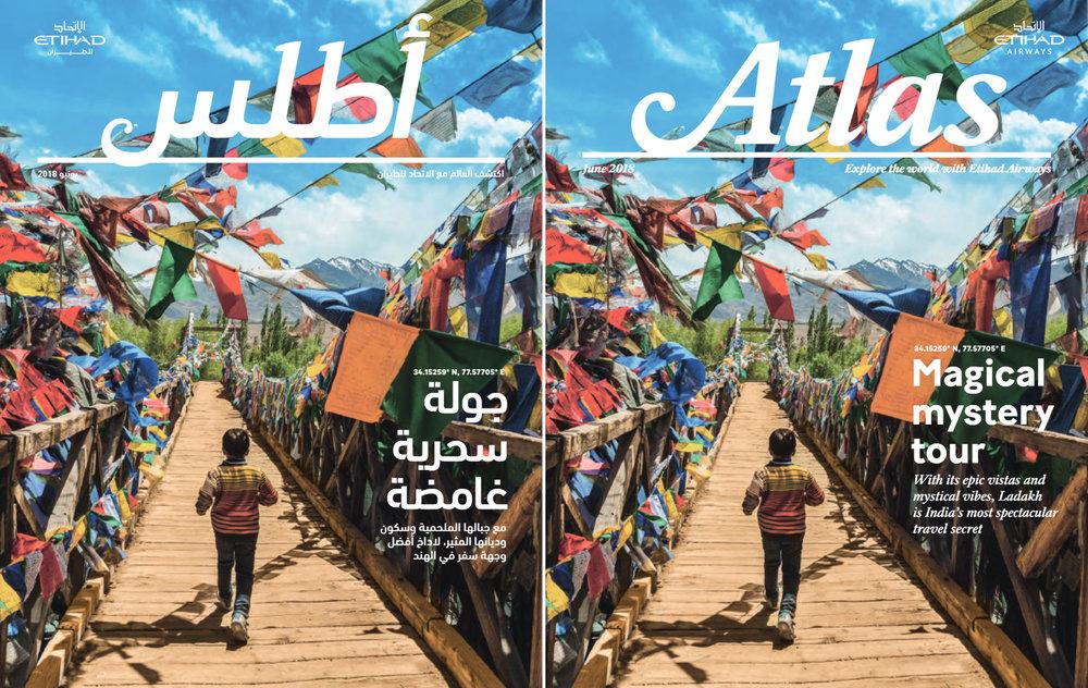 Atlas Magazine - Etihad Airways. June issue, 2018