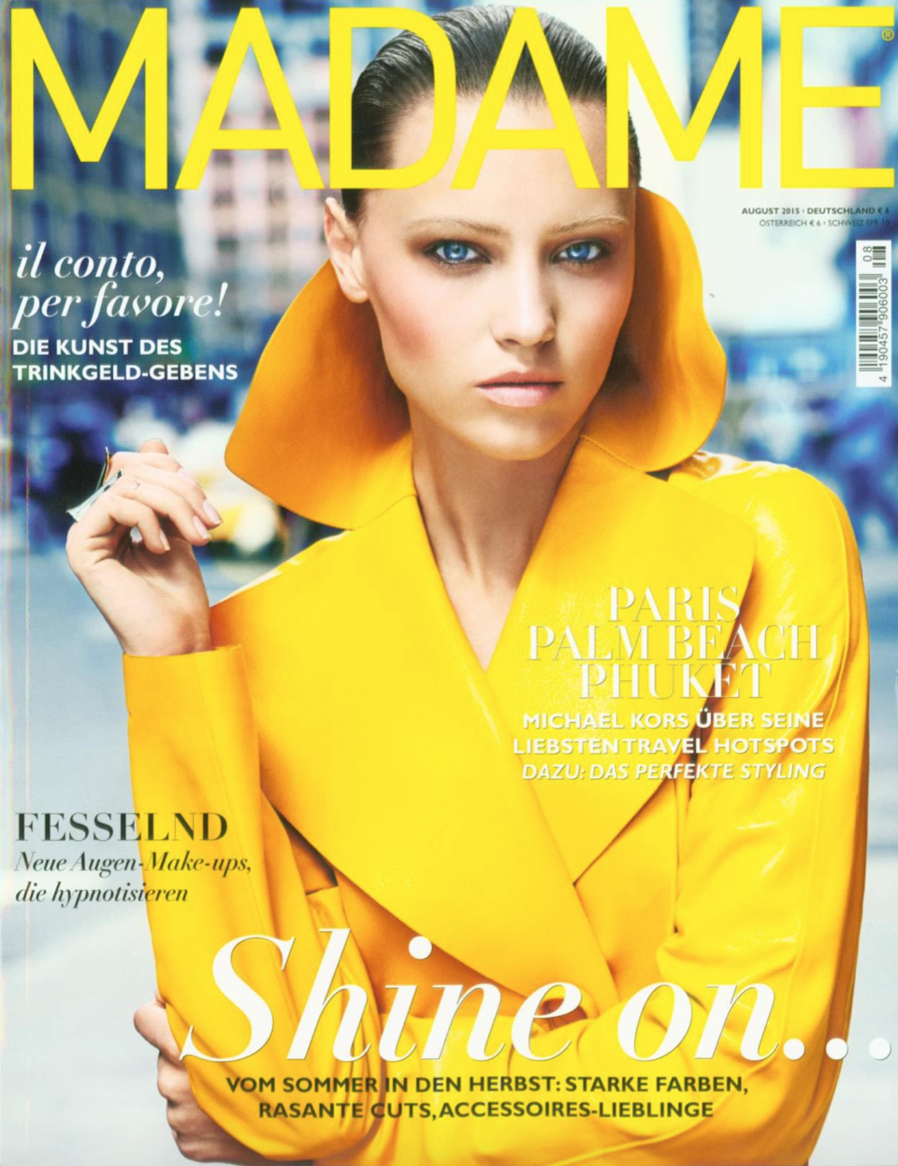 Madame, August 2015