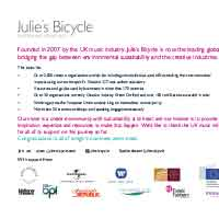 Julies Bicycle