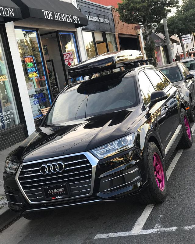 Take my money Q7😍 @audi // #allroadoutfitters // #te37 // #offroad // #2018 // #audi // #q7 // #allroad // #saturday // #adventure // #rays // #targatrophy // #carswithoutlimits // #blacklist // #audizine // #audigramm // #instadaily // #photooftheday // #instagood // #swag // #outdoors // #superstreet // @raysmsc @thule