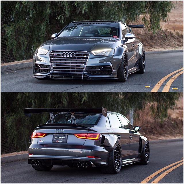 Front View or Rear View 😍 We can't decide what's better! What do you pick? // #allroadoutfitters // #tgif // #audi // #s3 // #widebody // #allroad // #adventure // #toyotires // #advan // #recaro // #brembo // #astsuspension // #studiorsr //#borlaexhaust // #goapr // #targatrophy // #carswithoutlimits // #blacklist // #audizine // #audigramm // #instadaily // #photooftheday // #instagood // #swag // #outdoors // #superstreet // @toyotires @yokohamawheelusa @brembo_rt @borlaexhaust @aprperformance @aerowerks @astsuspensionna @recaro @aprllc