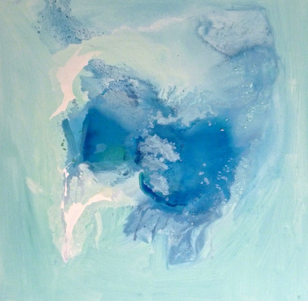 Ice Flow no. 5 SOLD    acrylic on canvas  100cm x 100cm
