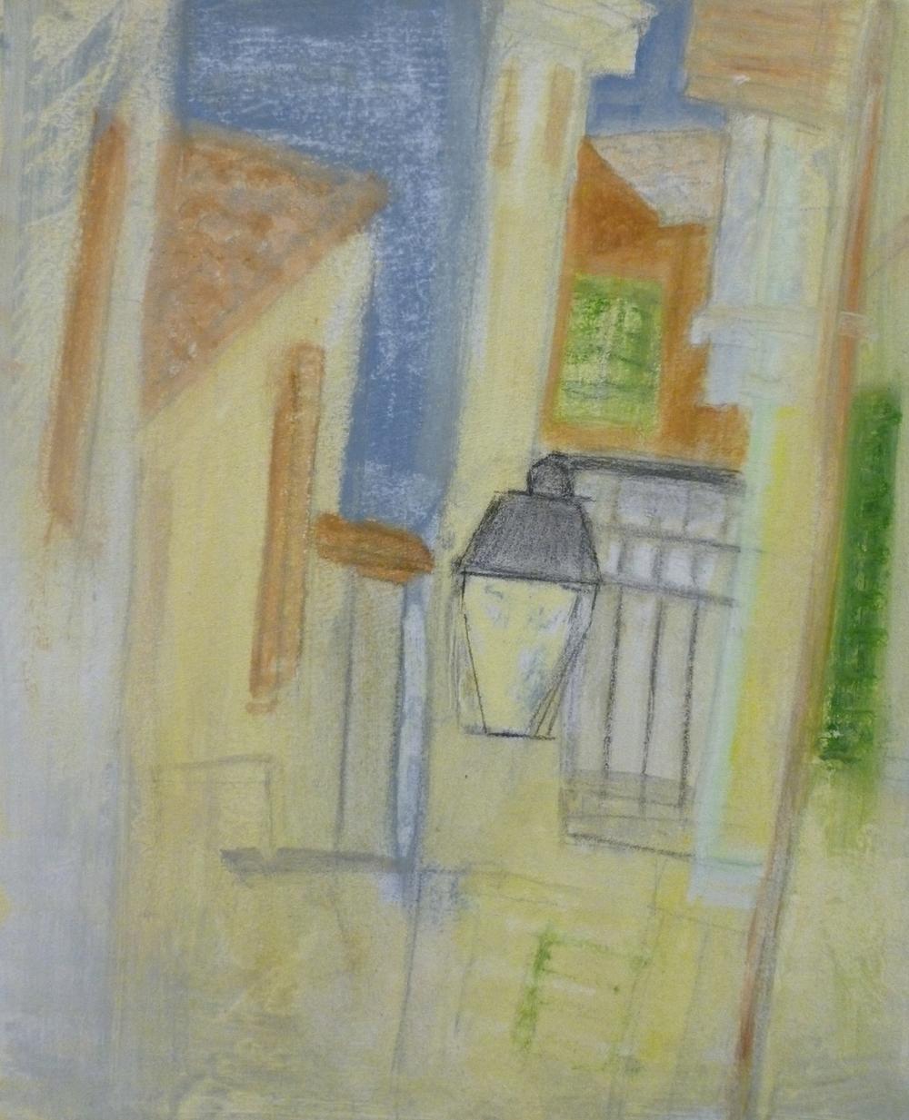 Calle de Palma (La Luz)    acrilico en lienzo  35cm x 40cm