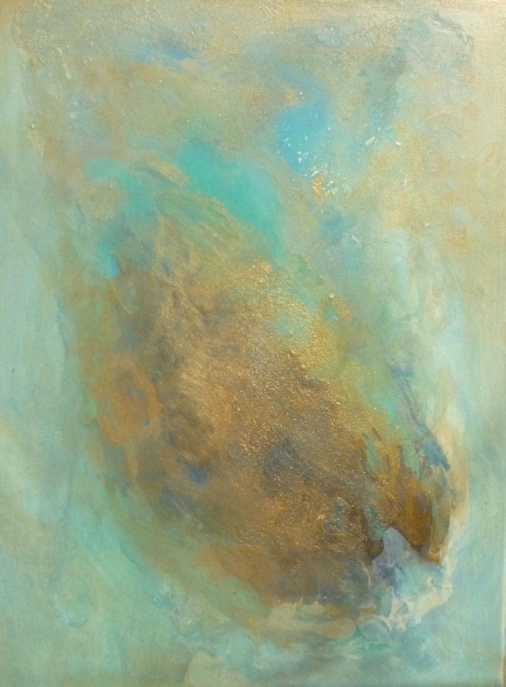 La Clota   Sold    acrilico en lienzo    40cm x 50cm