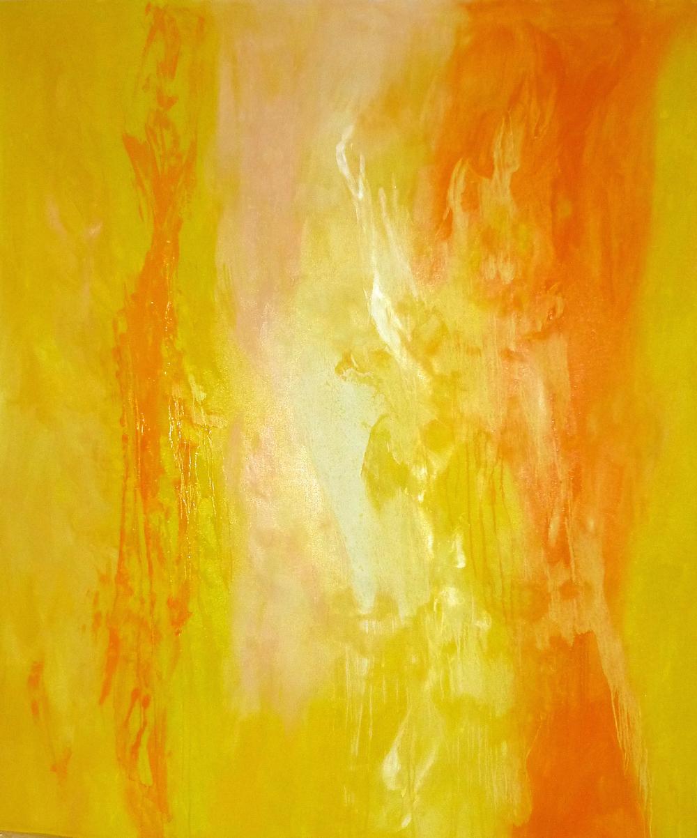 El Sol de Invierno    oleo en lienzo    150cm x 175cm