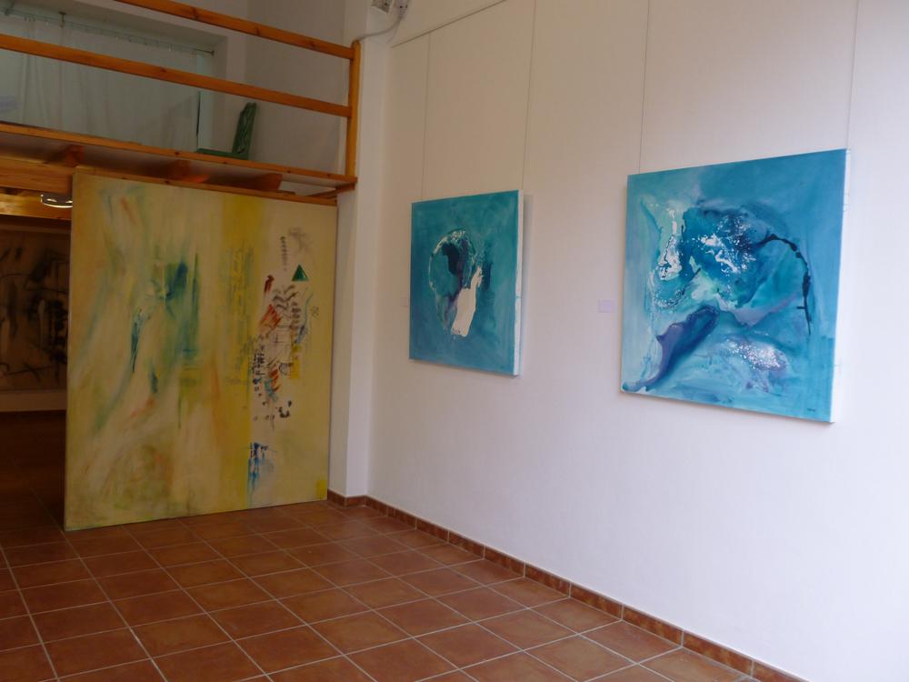 'Breaking Boundaries'   Oil on Canvas 180cm x 210 cm  Corinna Boughton