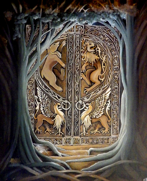 Gate of the Past - The ancient door that leads to the past and the Underworld