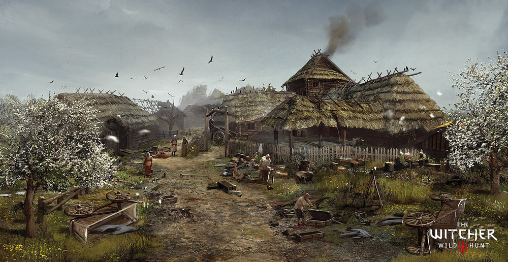 marek-madej-thewitcher-village-by-marekmadej.jpg