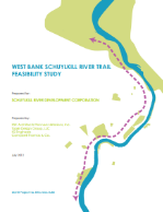 West Bank Schuylkill River Trail Feasibility Study  (PDF, 44 MB), July 2012