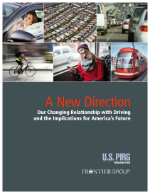 A New Direction. Our Changing Relationship with Driving and the Implications for America's Future, Spring 2013 (PDF, 2.7 MB)